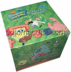 SpongeBob: Deep Sea Duel Starter Deck Box