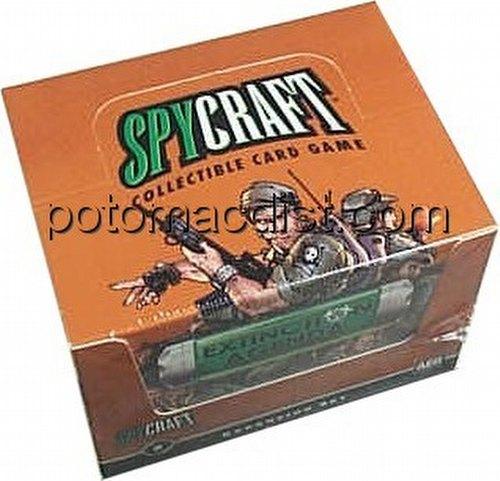 Spycraft: Extinction Agenda Starter Deck Box