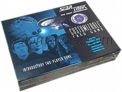 Star Trek CCG: Two Player Federation  Box