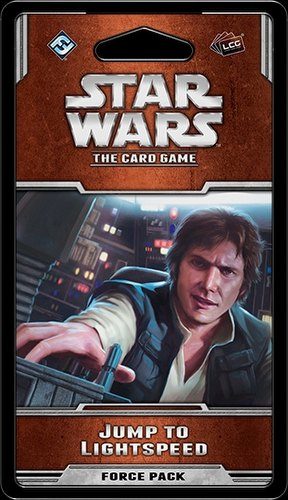 Star Wars The Card Game: Rogue Squadron Cycle - Jump to Lightspeed Force Pack Box [6 packs]
