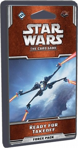 Star Wars The Card Game: Rogue Squadron Cycle - Ready for Takeoff Force Pack Box [6 packs]