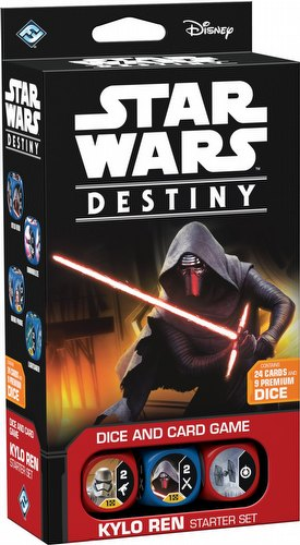 Star Wars Destiny: Kylo Ren Starter Set Box [6 Starter Sets]