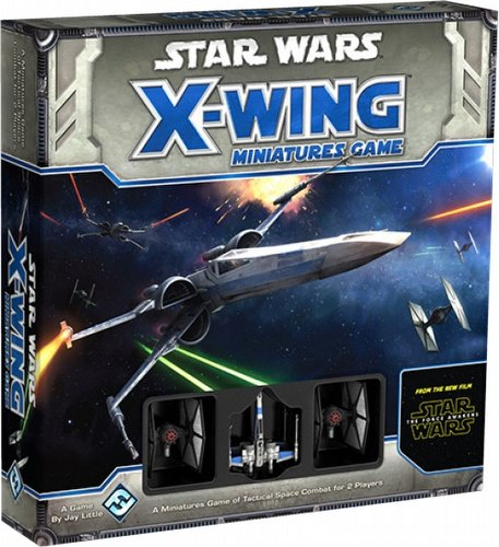 Star Wars X-Wing Miniatures: Force Awakens Core Set Box