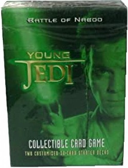 Star Wars Young Jedi: Battle of Naboo Starter Deck