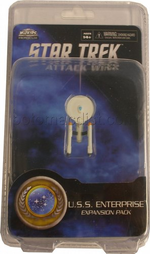 Star Trek Attack Wing Miniatures: Federation U.S.S. Enterprise Expansion Pack