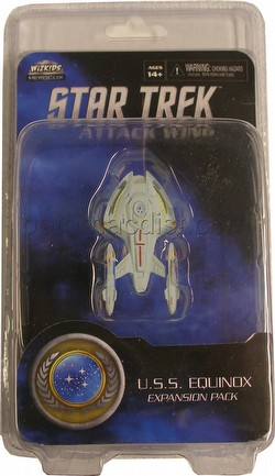 Star Trek Attack Wing Miniatures: Federation U.S.S. Equinox Expansion Pack