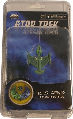 Star Trek Attack Wing Miniatures: Romulan R.I.S. Apnex Expansion Pack