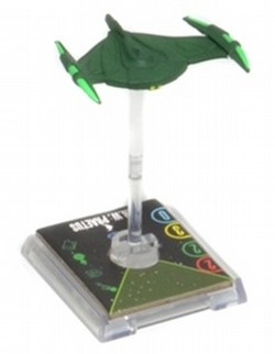 Star Trek Attack Wing Miniatures: Romulan I.R.W. Praetus Expansion Pack