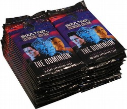Star Trek CCG: Dominion Booster Pack Lot (30 packs)