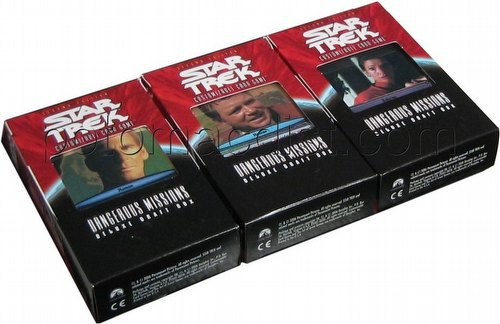 Star Trek CCG: Dangerous Missions Draft Set [1 each of the 3 draft boxes]