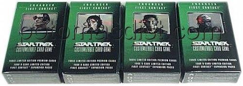 Star Trek CCG: Enhanced First Contact Set of 4 Packs [1 of each pack]
