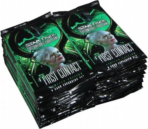 Star Trek CCG: First Contact [30 loose booster packs]