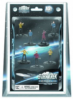 HeroClix: Star Trek Tactics Away Team 7-Pack Box
