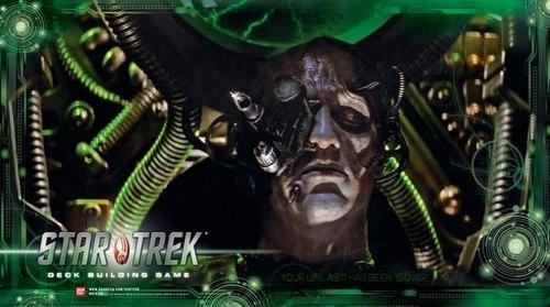 Star Trek Deck Building Game: Next Generation Borg Play Mat Case [10 play mats]