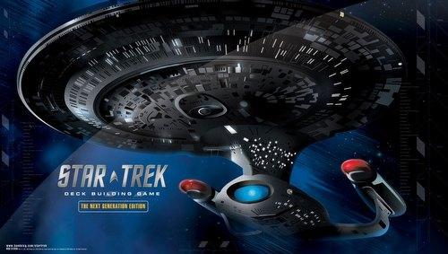 Star Trek Deck Building Game: Next Generation Play Mat Case [10 play mats]