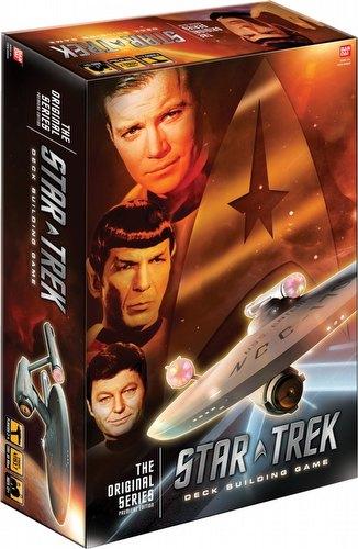 Star Trek Deck Building Game: The Original Series Case [8 boxes]
