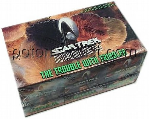 Star Trek CCG: Trouble With Tribbles Preconstructed Starter Deck Box