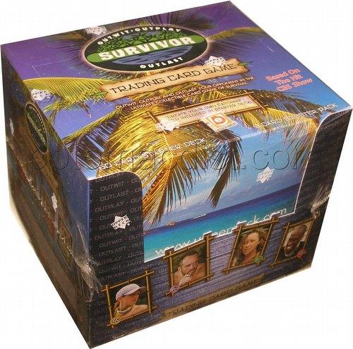 Survivor TV Show Trading Card Game Combo Box