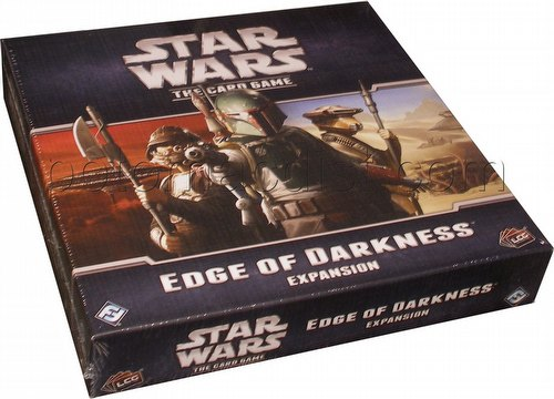 Star Wars The Card Game: Edge of Darkness Expansion Box
