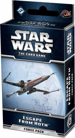 Star Wars The Card Game: The Hoth Cycle - Escape from Hoth Force Pack Box [6 packs]
