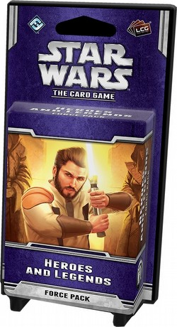 Star Wars The Card Game: Echoes of the Force Cycle - Heroes and Legends Force Pack