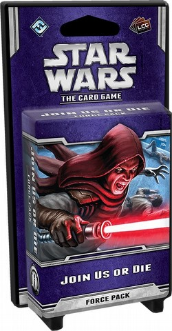Star Wars The Card Game: Echoes of the Force Cycle - Join Us Or Die Force Pack