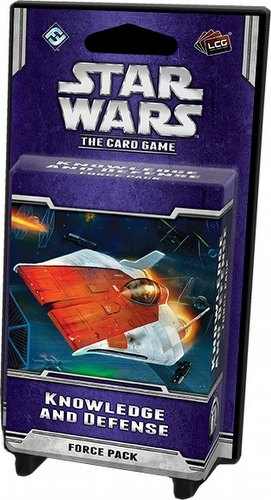 Star Wars The Card Game: Echoes of the Force Cycle - Knowledge and Defense Force Pack Box [6 packs]