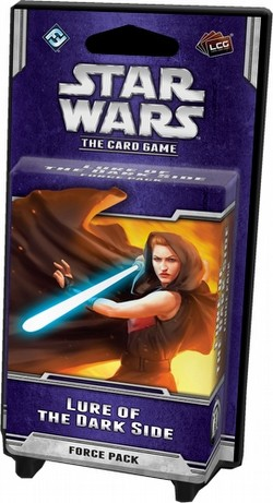 Star Wars The Card Game: Echoes of the Force Cycle - Lure of the Dark Side Force Pack