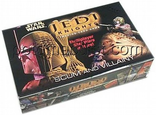 Star Wars Jedi Knights: Scum & Villainy Booster Box [1st Day]