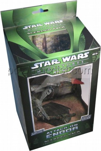 Star Wars Miniatures Game [CMG]: Attack On Endor Scenario Pack