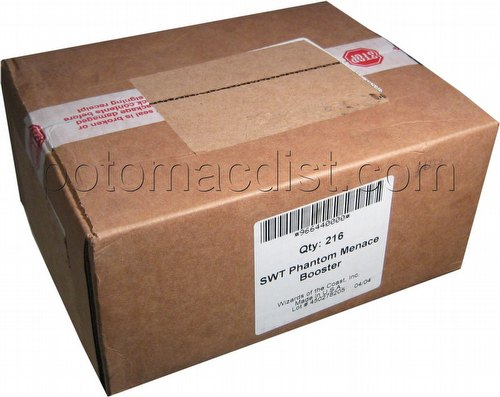 Star Wars Trading Card Game [TCG]: Phantom Menace Booster Case [6 boxes]