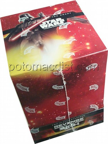 Star Wars Trading Card Game (TCG): Revenge of the Sith 2-Player Starter Deck Box