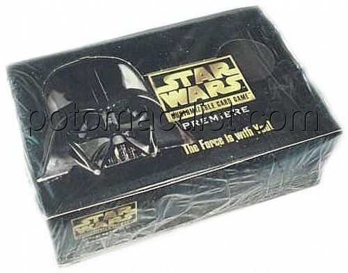 Star Wars CCG: Premiere Booster Box Case [Unlimited/6 boxes]