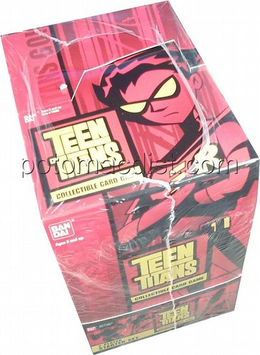 Teen Titans Trading Card Game [TCG]: 2-Player Starter Deck Box