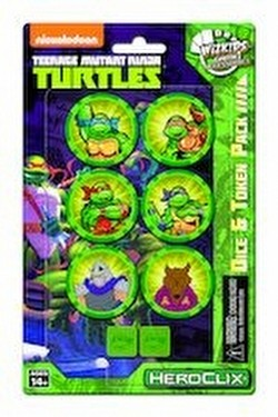 HeroClix: Teenage Mutant Ninja Turtles Dice & Token Pack