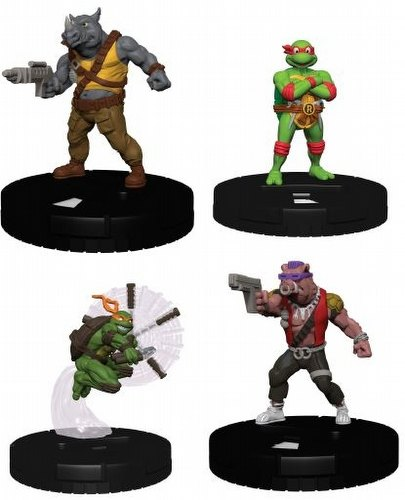 HeroClix: Teenage Mutant Ninja Turtles Gravity Feed Set 2 Box
