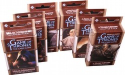 A Game of Thrones: Beyond the Narrow Sea Chapter Pack Set [6 Packs/1 of each]
