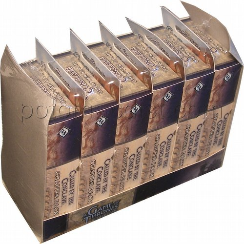 A Game of Thrones: Secrets of Oldtown Cycle - Called By The Conclave Chapter Pack Box [6 packs]