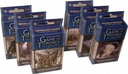 A Game of Thrones: Defenders of the North Chapter Pack Set [6 Packs/1 of each]