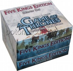 A Game of Thrones: Five Kings Edition Starter Deck Box