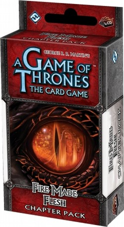 A Game of Thrones: Conquest and Defiance - Fire Made Flesh Chapter Pack Box [6 packs]