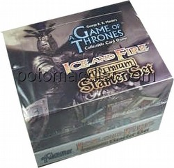 A Game of Thrones: Ice & Fire Premium Starter Deck Box