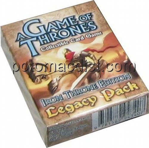 A Game of Thrones: Iron Throne Edition Legacy Pack Starter Deck