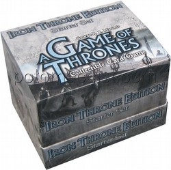 A Game of Thrones: Iron Throne Edition Starter Deck Box
