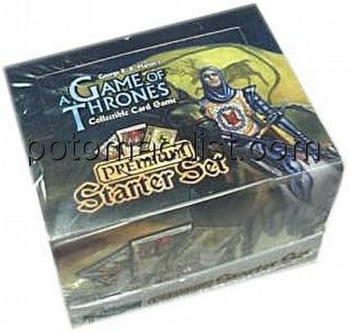 A Game of Thrones: Westeros Premium Starter Deck Box
