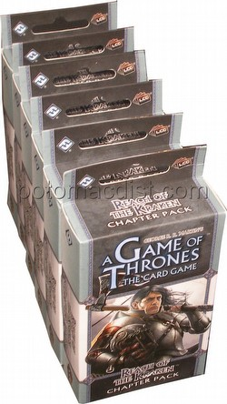 A Game of Thrones: A Song of the Sea - Reach of the Kraken Chapter Pack Box [6 packs]