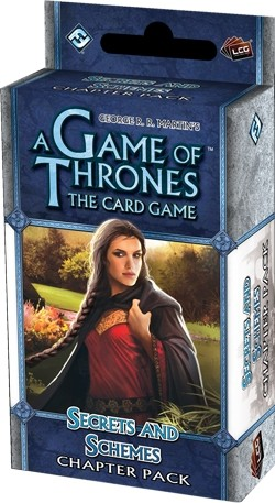 A Game of Thrones: Wardens Cycle - Secrets and Schemes Chapter Pack Box [6 packs]