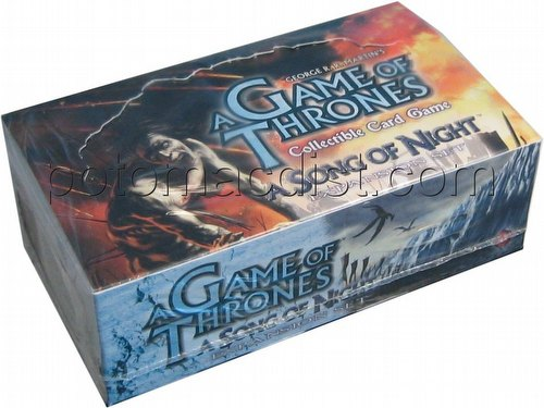 A Game of Thrones: A Song of Night Booster Box