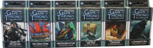 A Game of Thrones: A Song of the Sea Chapter Pack Set [6 packs/1 of each]