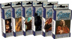 A Game of Thrones: Secrets of Old Town Chapter Pack Set [6 Packs/1 of each]